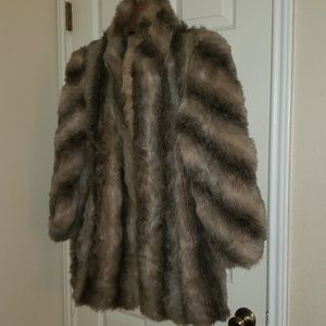 Vintage Genuine Fox Fur Coat (Dannybrook)